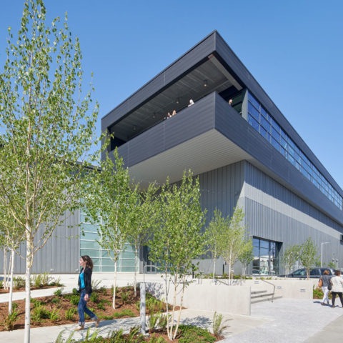 Exterior of the completed National Nordic Museum building. (Photo by Bruce Damonte)